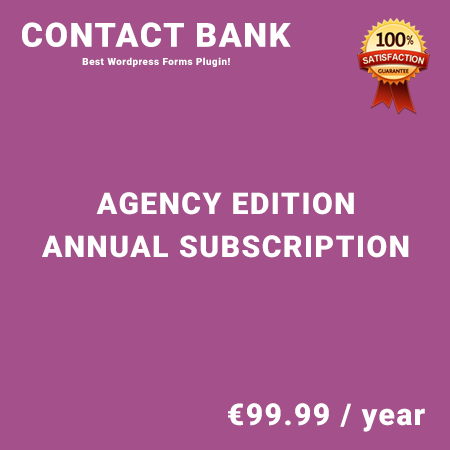 Contact Bank Agency Edition – Annual Subscription