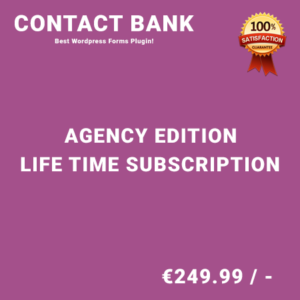 Contact Bank Agency Edition – Life Time Purchase