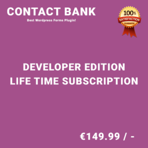 Contact Bank Developer Edition – Life Time Purchase