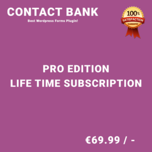 Contact Bank Pro Edition – Life Time Purchase