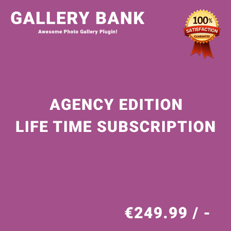 Gallery Bank Agency Edition – Life Time Purchase