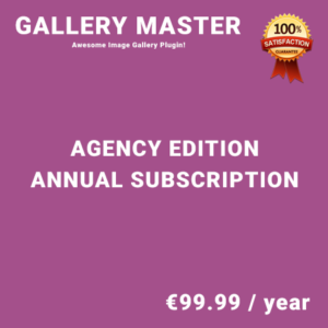 Gallery Master Agency Edition - Annual Subscription
