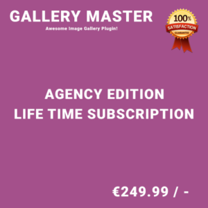 Gallery Master Agency Edition – Life Time Purchase