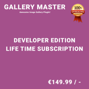 Gallery Master Developer Edition – Life Time Purchase