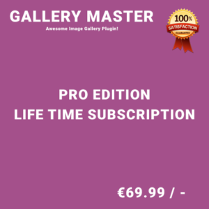 Gallery Master Pro Edition – Life Time Purchase