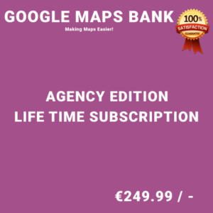 Google Maps Bank Agency Edition – Life Time Purchase