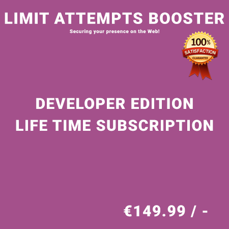 Limit Attempts Booster Developer Edition - Life Time Purchase