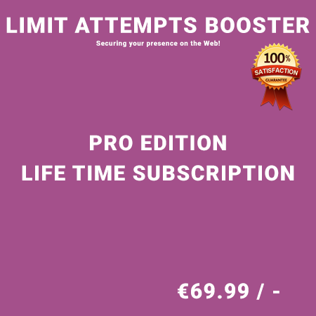 Limit Attempts Booster Pro Edition - Life Time Purchase