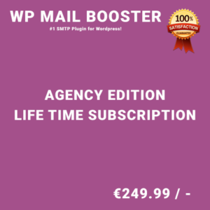 WP Mail Booster Agency Edition – Life Time Purchase