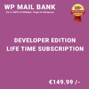 WP Mail Bank Developer Edition – Life Time Purchase
