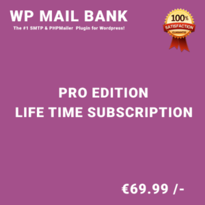 WP Mail Bank Pro Edition – Life Time Purchase
