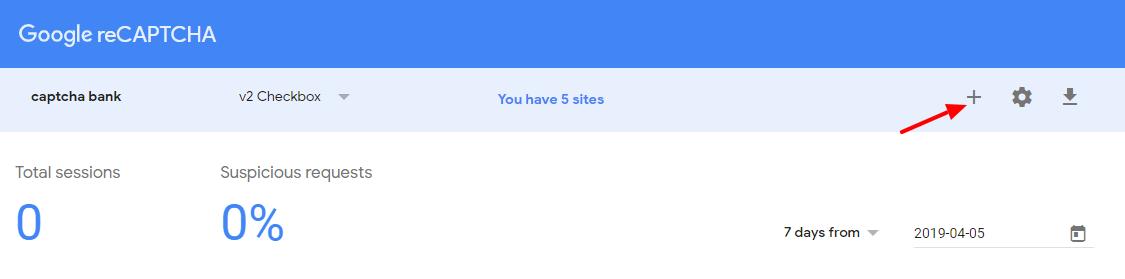 Add Google recaptcha