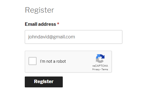 Google Recaptcha Woocommerce Register Form