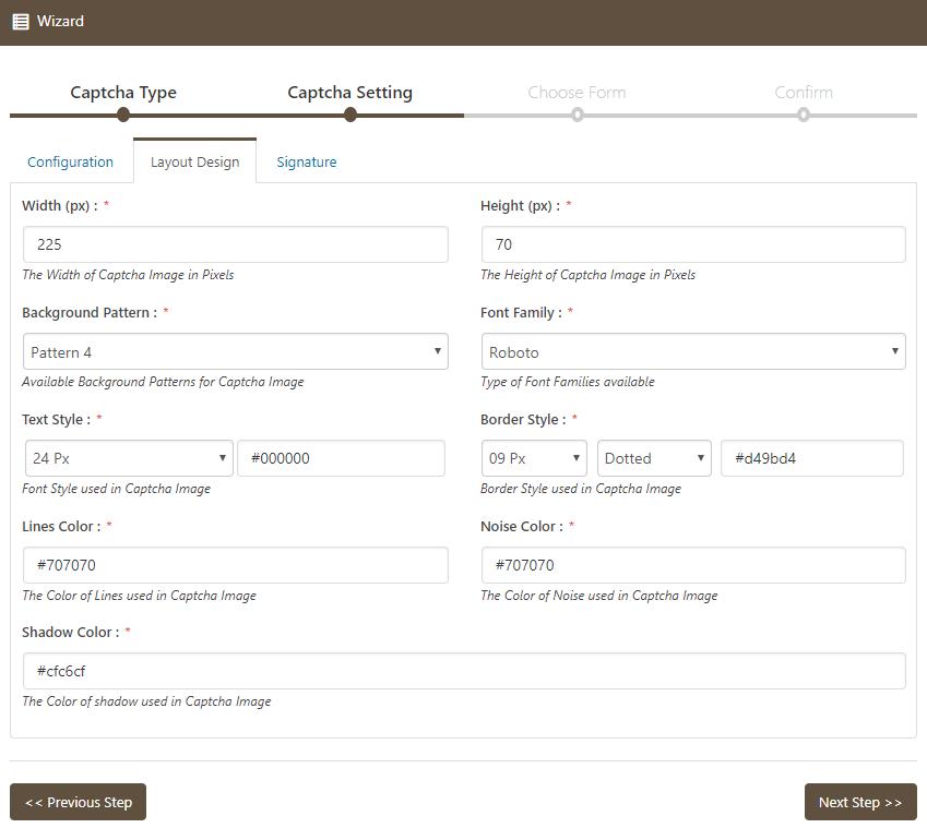 Text Captcha Layout Design Captch Bank