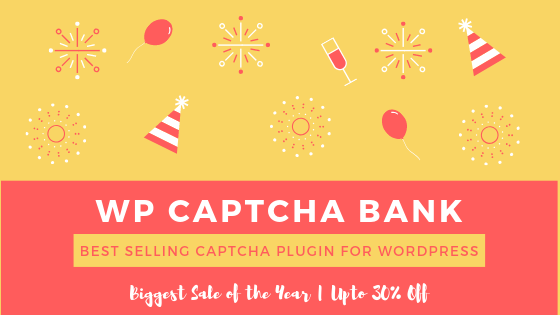 WP Captcha Bank Deal Banner