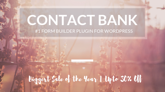 WP Contact Bank Deal Banner