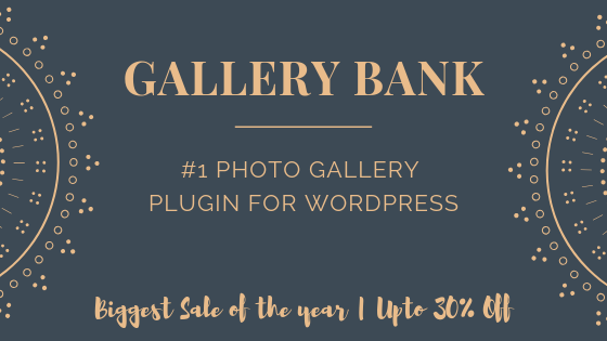 WP Gallery Bank Deal Banner