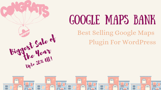 WP Google Maps Bank Deal Banner