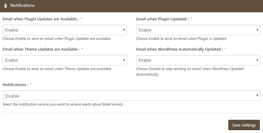 WP Mail Booster Notification Email on Updates