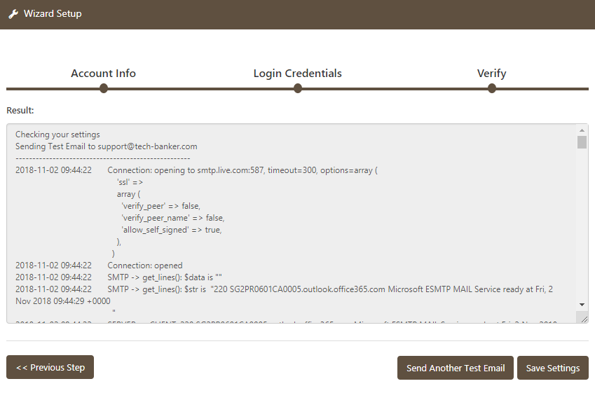 WP Mail Booster Office 365 Smtp Debugging Output
