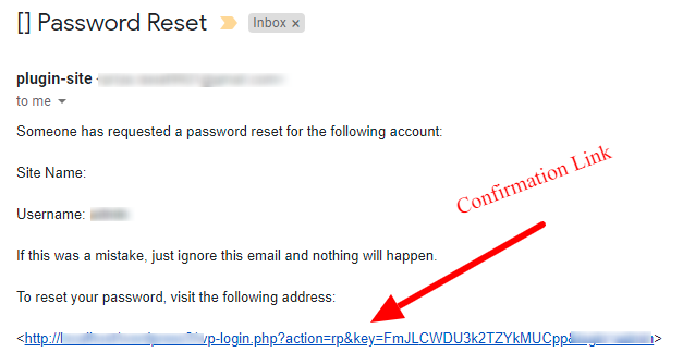 Confirm Mail