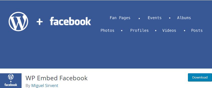 Facebook Embed Plugin