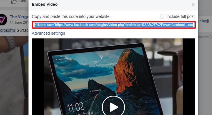 Iframe Code Post