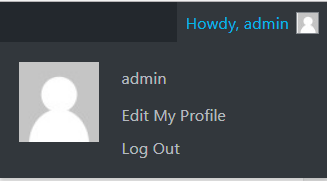 Logout From Admin Account