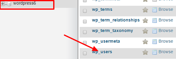 Wp User Table From Database